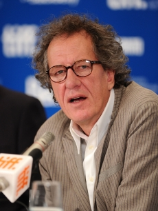 Geoffrey Rush speaks at &#8220;The King&#8217;s Speech&#8221; press conference during the 2010 Toronto International Film Festival at the Hyatt Regency in Toronto, Canada, on September 11, 2010 
