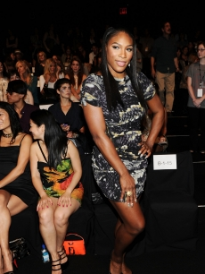 Serena Williams attends the Vivienne Tam Spring 2011 fashion show during Mercedes-Benz Fashion Week at The Theater at Lincoln Center in New York City on September 11, 2010