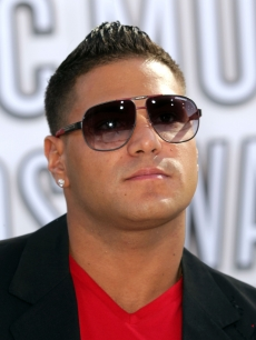 Ronnie Ortiz-Magro arrives at the 2010 MTV Video Music Awards at NOKIA Theatre L.A. LIVE in Los Angeles on September 12, 2010