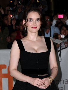 "Winona Ryder arrives at the ""Black Swan"" premiere held at Roy Thomson Hall during the Toronto International Film Festival in Toronto on September 13, 2010"