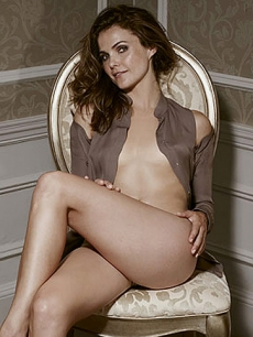 Keri Russell poses for Esquire (Sept. 2010)