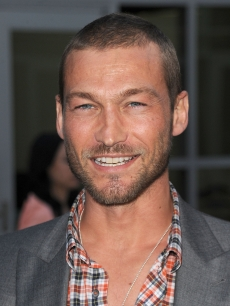 "Andy Whitfield arrives at the premiere of Paramount Pictures' ""Middle Men"" in Los Angeles on August 5, 2010"
