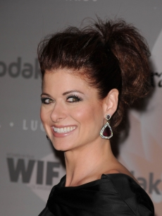 Debra Messing arrives at the 2010 Crystal + Lucy Awards: A New Era at Hyatt Regency Century Plaza on June 1, 2010 in Century City, Calif.