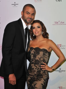 Tony Parker and Eva Longoria Parker arrive at Pavillon Cambon Capucines to attend the Par Coeur Gala 2010, Paris, September 20, 2010