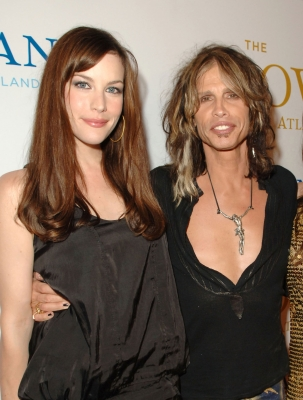 Liv Tyler and her father Steven Tyler in 2007