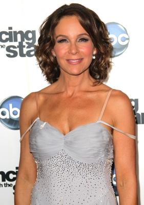 Jennifer Grey attends the premiere of &#8220;Dancing with the Stars&#8221; at CBS Television City in Los Angeles on September 20, 2010 