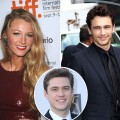 Blake Lively, James Franco and Aaron Tveit