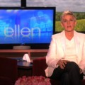 "Ellen DeGeneres on an episode of ""The Ellen DeGeneres Show"" on October 1, 2010"