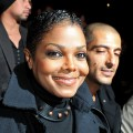 Janet Jackson arrives with a smile for the Lanvin Ready to Wear Spring/Summer 2011 show during Paris Fashion Week at Halle Freyssinet in Paris, France on October 1, 2010