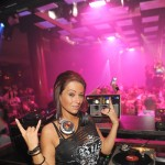 "Jenni ""JWoww"" Farley hosts a fist-pumping evening at Jet Nightclub, The Mirage Hotel and Casino, Las Vegas, Sept. 24, 2010"