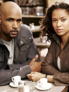 "Boris Kodjoe and Gugu Mbatha-Raw in NBC's ""Undercovers"""