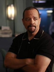 "Ice-T as Det. Odafin ""Fin"" Tutuola on ""Law & Order: SVU,"" NBC, Sept. 2010"