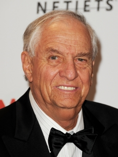 "Garry Marshall arrives at the opening Gala and ""Unmasking"" for the Resnick Pavilion at LACMA in Los Angeles on September 25, 2010"