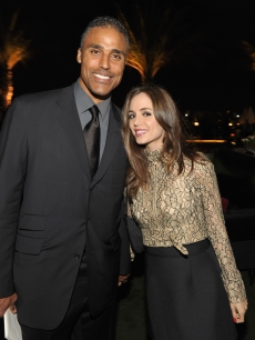 "Rick Fox and Eliza Dushku attend ""ARCADE Boutique Presents The Autumn Party"" at The London Hotel in West Hollywood on September 29, 2010"