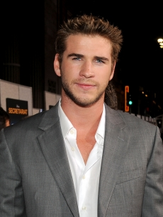 "Liam Hemsworth attends the premiere of ""Secretariat"" at the El Capitan Theatre in Hollywood, California on September 30, 2010"