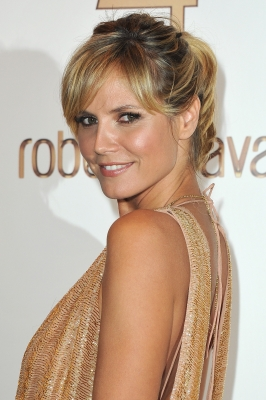 Heidi Klum attends the Roberto Cavalli party at Les Beaux-Arts de Paris as part of the Paris Fashion Week Ready To Wear S/S 2011, Paris, France, September 29, 2010