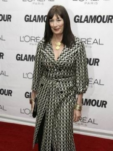 Anjelica Huston poses at the event honoring extraordinary women