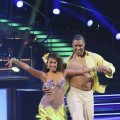 "A shirtless Rick Fox sambas with Cheryl Burke on ""Dancing,"" Los Angeles, Oct. 4, 2010"