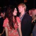 "Rumer Willis and Chord Overstreet attend ""An Evening Affair"" presented by Night Vision at a private residence in Beverly Hills, Calif., on October 9, 2010"
