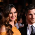 "Odette Yustman and Dave Annable arrives at the premiere of ""You Again"" at the El Capitan in Los Angeles on September 22, 2010"