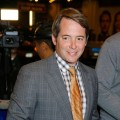 "Matthew Broderick attends the opening night of ""La Bete"" on Broadway at the Music Box Theatre in New York City on October 14, 2010"