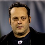 Vince Vaughn attends the game between the Chicago Bears and the Green Bay Packers at Soldier Field on September 27, 2010 in Chicago