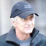 Michael Douglas is seen leaving his Upper West Side apartment in New York City on October 14, 2010