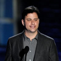 "Jimmy Kimmel speaks onstage during Spike TV's ""SCREAM 2010"" at The Greek Theatre in LA on October 16, 2010"