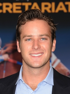 "Armie Hammer arrives at the premiere of ""Secretariat"" at the El Capitan Theatre on September 30, 2010 in Hollywood"