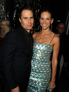 Sam Rockwell and Hilary Swank arrive at Fox Searchlight Pictures&#8217; &#8216;Conviction&#8217; premiere at the Samuel Goldwyn Theater on October 5, 2010 in Beverly Hills, California.