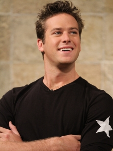 """The Social Network"" star Armie Hammer visits Access Hollywood Live on October 7, 2010"