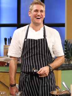 """Take Home Chef"" star Curtis Stone visits Access Hollywood Live on October 7, 2010"