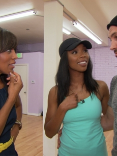 Access Extended: Brandy & Maks Are Slap Happy Over 'Dancing'
