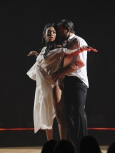 Brandy and Maksim and their 'Dancing' rumba, Oct. 11, 2010