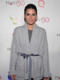 Angie Harmon attends &#8220;FFANY Shoes on Sale&#8221; Benefit for Breast Cancer Research and Education, presented by QVC at Frederick P. Rose Hall, Jazz at Lincoln Center in NYC on October 13, 2010