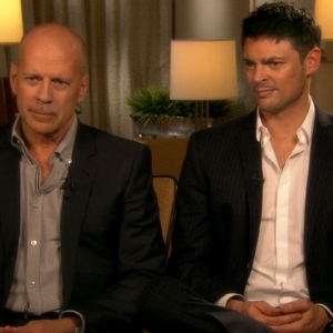 Bruce Willis & Karl Urban Talk 'Red'