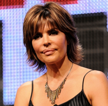 "Lisa Rinna is seen at the ""Harry Loves Lisa"" panel at the MTV Networks Summer TCA Tour held at The Beverly Hilton Hotel in Beverly Hills, California on August 6, 2010"
