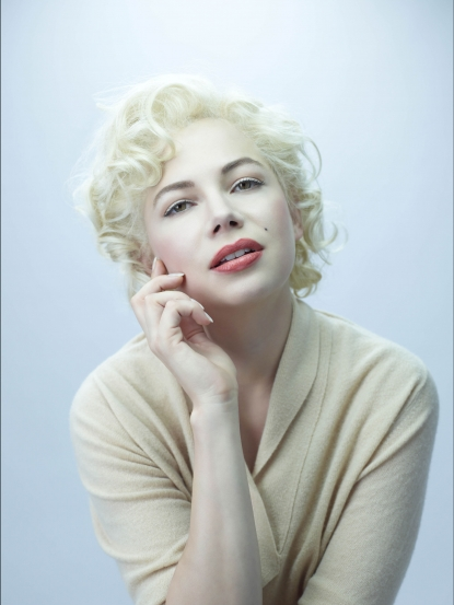"Michelle Williams as Marilyn Monroe in ""My Week with Marilyn"""