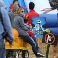 Heidi Klum hits the Mr. Bones Pumpkin Patch, Los Angeles, October 17, 2010