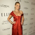 Molly Sims arrives at ELLE's 17th Annual Women in Hollywood Tribute at The Four Seasons Hotel on October 18, 2010 in Beverly Hills