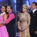 Bristol Palin and Mark Ballas, Florence Henderson and Cory Ballas, &#8220;Dancing with the Stars,&#8221; Oct. 2010