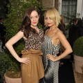 Rose McGowan and Nicole Richie dazzle at the 2010 CFDA Vogue Fashion Fund Finalists Celebration with Frederic Fekkai and Lisa Love at Chateau Marmont in Los Angeles on October 19, 2010 