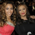 Beyonce Knowles and Tina Knowles at the 40th NAACP Image Awards at the Shrine Auditorium, LA, February 12, 2009
