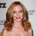 Heather Graham attends the 14th annual Hollywood Awards Gala at The Beverly Hilton Hotel in Beverly Hills on October 25, 2010