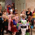 It's costumes galore at the Halloween kids costume fashion show on Access Hollywood Live on October 28, 2010