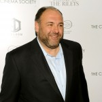 "James Gandolfini attends The Cinema Society & Everlon Diamond Knot Collection's screening of ""Welcome To The Rileys"" at the Tribeca Grand, NYC, October 18, 2010"
