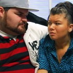 "Gary Shirley and Amber Portwood on MTV's ""Teen Mom"" on July 21, 2010"