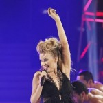 Kylie Minogue performs on &#8220;Dancing with the Stars,&#8221; Oct. 26, 2010