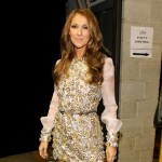 Celine Dion backstage during the 52nd Annual GRAMMY Awards held at Staples Center in Los Angeles on January 31, 2010