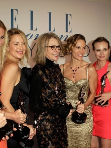 Sofia Coppola, Gwyneth Paltrow, Kate Hudson, Diane Keaton, Adam Shankman, Hilary Swank, Diane Kruger, Kerry Washington and Jessica Chastain are seen at ELLE&#8217;s 17th Annual Women in Hollywood Tribute at The Four Seasons Hotel in Beverly Hills, California on October 18, 2010 